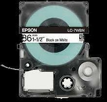 EPSON SS36KW (LC-7WBN) Label Tape Maker Black on White