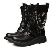 Mens Punk Rock Boots