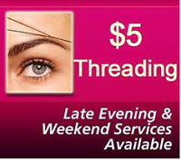 Great Deal! Eyebrows Threading & Henna Tattoo $5 DownTown HFX
