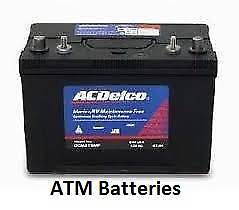 Boat Battery Marine Batteries Jet Ski Warranty Free delivery Adelaide CBD Adelaide City Preview