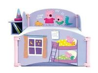 toddler peppa pig bed