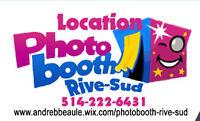 photobooth a 350$ pour 3 heures illimité
