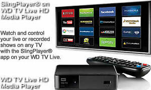 WD TV Live steaming Media Player