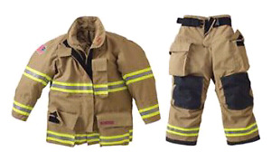 Firefighter bunker gear