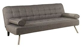 BRAND NEW TOBI FABRIC 3 SEATER SOFA BED IN DIFFERENT COLOURS!!!!!