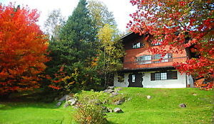 Swiss Mountain Chalet Avec Spa