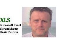 Microsoft Excel Spreadsheets - Basic Tuition - £15 Per Hour