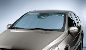 Oem genuine mercedes benz windshield sun shade uvs 100t 06 for Mercedes benz r350 accessories