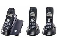Panasonic KXTCD203 DECT Triple Phone Pack