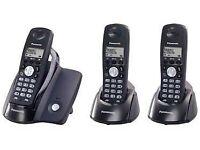 Panasonic KXTCD203 DECT Triple Phone Pack