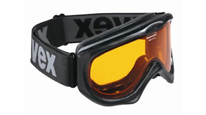 UVEX DOWNHILL II BLACK SNOW GOGGLE