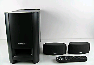 Bose Cinemate GS 2.1 surround sound system with subwoofer