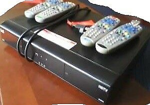 Bell 9242 HDTV PVR Receiver with Remotes