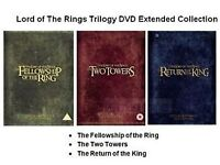 The Lord Of The Rings Special Extended Editions with extras