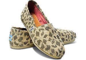 6394637f9f4 Leopard Toms  Women s Shoes
