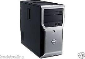 DELL PRECISION T1500 COMPUTER i7 860 2.8GHz 8GB DDR3 1TB QUADRO FX580 ENP-5150GH