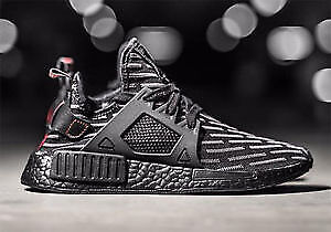 DS Adidas NMD XR1 Triple Black. Size 8.5