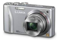 A non-working Panasonic Lumix DMC-ZS8, for parts