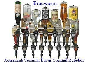BRAUWURMS Zapfanlagen Bar Zubehör
