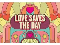 Love Saves The Day ticket for Saturday