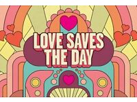 Love Saves the Day Sunday Admission