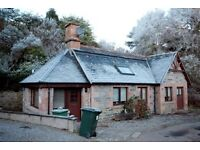 one bedroomed single storey house for rent in Crask of Aigas, by Beauly