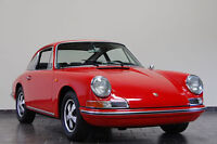 Porsche 912 polo red/black interior FOR RESTORATION