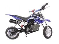 Brand new Hawkmoto kids dirt bike
