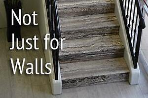 Looking for a new idea for your stairs - Try Stone!
