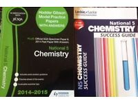 National 5 chemistry revision books