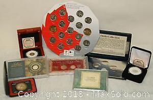 Assorted collector Coin Pieces