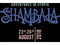 2 x Shambala tickets with coach tickets from Brighton, £440 for both - open to offers