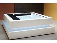 New High End Spa Hot Tub Outdoor Indoor Garden furniture Steel Steam massage bath Jacuzzi