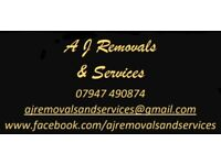 A J Removals & Services - Falmouth and Cornwall