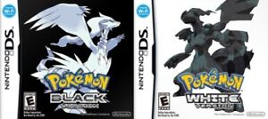 Pokemon Black or Pokemon White DS