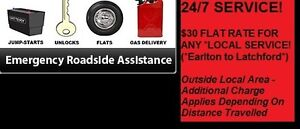 24/7 Roadside Assistance in Temiskaming!