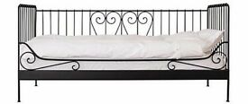 IKEA Meldal Single Black Day Bed