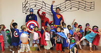 PROMO 50 % Children's Party, Daycare, clowns, super heros & more