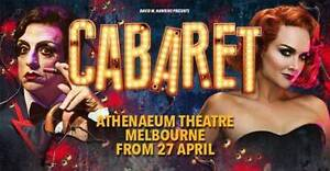 Cabaret the Musical Tickets x 2 - Sat 27 May, 2.00pm Terang Corangamite Area Preview