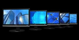 4 lcd monitors 8 pounds each