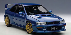 Autoart 1/18 SUBARU IMPREZA 22B (BLUE)(UPGRADED VERSION)