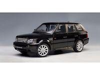 Range Rover Sport Black 2006 Low Mileage