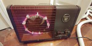 Electric Portable Heater 1500 watts Vintage Made in Canada