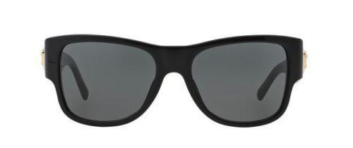 NWT Versace Sunglasses VE 4275 GB1/81 Polarized Black / Gray