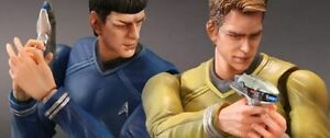 Play Arts Kai Captain Kirk & Spock set brand new in sealed box