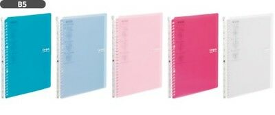 New Kokuyo Campus Smart Ring60 B5 Binder 26 Rings Loose Leaf 5 Color Japan