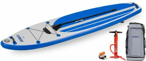 sea eagle inflatable longboard 11 paddleboard start up package paddle pump more