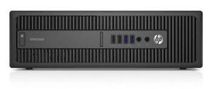 HP EliteDesk 800 G2 Desktop Computer SFF | Core i5-6600 3.3GHz | 8GB | 500GB | DVDRW