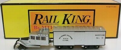 30-2154-0 MTH Rail King Rio Grande Southern Galloping Goose Diesel With Horm Cab