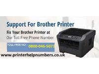 How to get brother printer back online?